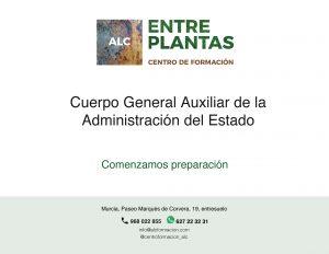 Preparación auxiliar administrativo de la administración